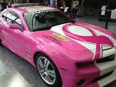 Pink pony  I would soooo drive this!!