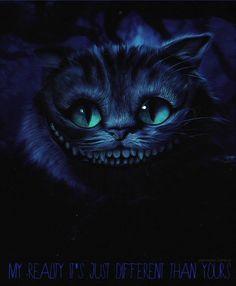 alice in wonderland Cheshire Cat Quotes, Cheshire Cat Tattoo, Chesire Cat, Cheshire Cat Alice In Wonderland, Alice In Wonderland Characters, Alice And Wonderland Quotes, Wonderland Party, Tim Burton Kunst, Tim Burton Art