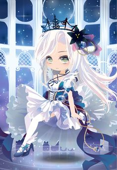 PLANETARY BLINK|@games -アットゲームズ- Kawaii Chibi, Cute Chibi, Anime Chibi, Kawaii Anime, Anime Manga, Chibi Characters, Cute Characters, Female Character Design, Character Concept