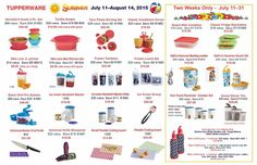Sale ends August 19, 2015: browse and shop TupperTopTeam.my.tupperware.com