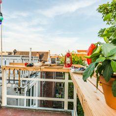 Lily Street-1 Narrow Balcony, Amsterdam, Terrace, Patio, Street, Projects, Balconies, Balcony, Log Projects