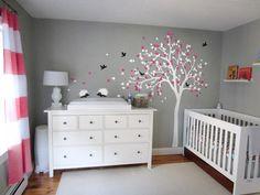 Wanddeko   Baby Kinderzimmer Wand Baum Aufkleber Hedgehogs   Ein  Designerstück Von Vinylwalldecals