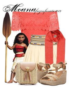 """""""Moana"""" by frozenfanatic2019 ❤ liked on Polyvore featuring WearAll, Disney, Isabel Marant, Faith Connexion and Blowfish"""