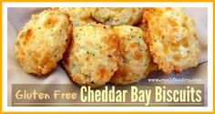 Gluten Free Cheddar Bay Biscuits | Real Food RN