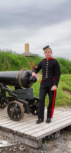 Manning the Cannon at the Citadel by @Ottsworld Travel Travel – Halifax, Nova Scotia – Daily Photo