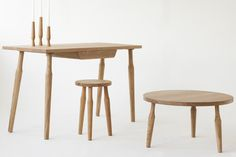 Santiago furniture collection by Liam Treanor table chair