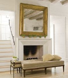 simple and nice fireplace -bates corkern studio
