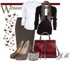 """""""Confident Woman"""" by jenniemitchell on Polyvore"""