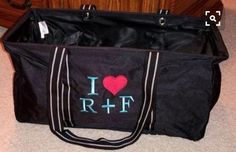 Large utility tote to travel to R+F events! #thirtyone www.bagsandbins.com