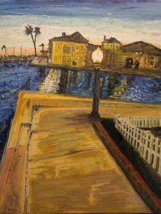 #fineart #oilpainting #oil #canvas #art #painting #pleinair #impressionism #balboa #balboaisland #newportbeach #lagunabeach #ocean #bay #harbor #newportharbor