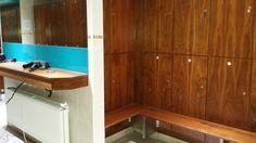 General lockers/mirror area of pontefract changing room
