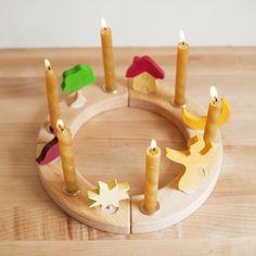 DIY Advent or Waldorf Birthday Ring | Hellobee