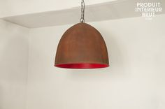 Suspension Raspberry Steel - Un plafonnier large, à l'intérieur délicieusement coloré   +-245