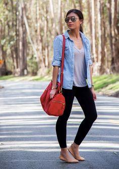 Cool fall fashion outfit idea. | Fall Fashion