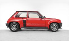 Renault 5 turbo as used by fatima blush in the non eon production of never say never again ..actress barbera carrera..
