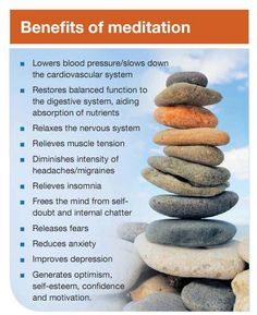 Benefits of Meditation ~