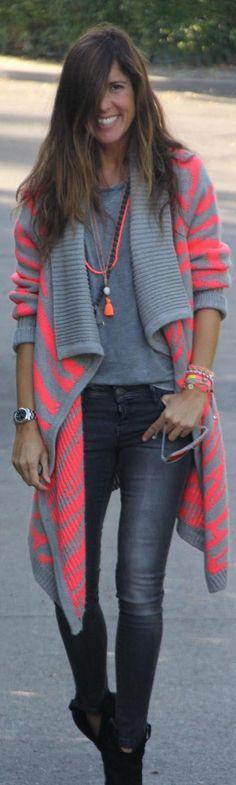 cozy jacket for fall http://stylelovely.com/mytenida/2013/11/cozy-jacket-for-fall-from-vila