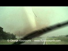 Very Close Tornado - Rago, Kansas May 19 2012