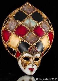 Venetian Masquerade Mask Salome Doge Mini (at italymask.com)