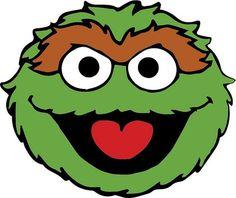 Oscar The Grouch Printable# 2541725 Sesame Street Cake, Sesame Street Birthday, Sesame Street Crafts, Elmo Birthday, Boy Birthday Parties, Sesame Street Characters, Oscar The Grouch, Elmo Party, Pumpkin Decorating