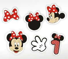 Minnie Mouse Clipart, Minnie Mouse Cupcake Toppers, Minnie Mouse Theme, Baby Mickey, Minnie Birthday, 2nd Birthday, Birthday Parties, Minnie Mouse Pictures, Disney Magic Bands