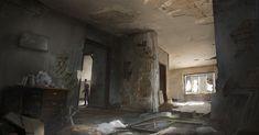 ArtStation - Abandoned Apartment, Jason Slavin