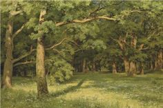 The Forest Clearing - Ivan Shishkin