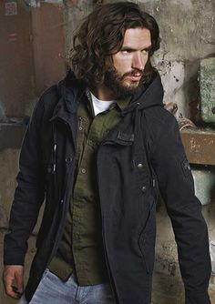 Oft center Parted Curly and Wavy Hairstyle ~ http://heledis.com/man-and-hairstyles-for-men/