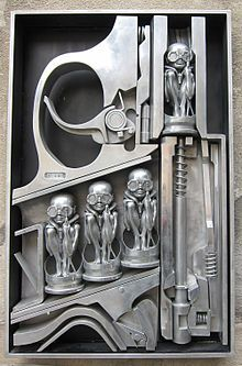 HR Giger makes amazing art which was an inspiration for some of my own work.