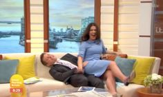 Susanna Reid And Ben Shephard Take A Tumble As They Attempt A Dance Lift On 'Good Morning Britain' | The Huffington Post