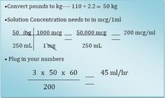 Weight based IV drip rates are hard calculations for many nursing students. Here is an easy way to get through those tricky numbers.