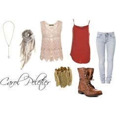 With spring on the way make sure to get this Carol from TWD inspired outfit