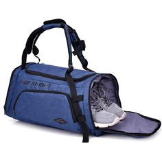 Amazon : Sports Gym Bag with Shoes Compartment Travel Duffel Bag Just $18.99 W/Code (Reg : $37.99) (As of 8/25/2018 7.10 PM CDT)