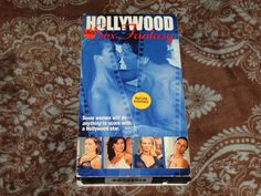 Hollywood Sex Fantasy (VHS, 2000) Rare OOP Eros/Playboy UNRATED T&A *NOT ON DVD*