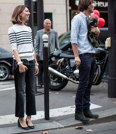 Sofia and Thomas at Louis Vuitton PFW