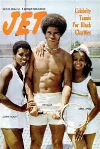 "Cover of ""Jet"" Magazine, 1970s, Jim Kelly. Zippertravel.com Digital Edition"