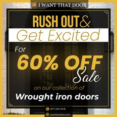 Our limited time special pricing is in place! If you are in the market for a new entry door, replacement steel door, storm door, security door or garage door for your home -- now is your time! As a trusted iron door supplier we stand behind our superior quality products & professional installation! ☎️️ 877-205-9418 🌐 www.iwantthatdoor.com