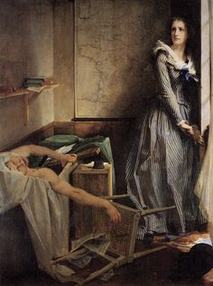 """""""Charlotte Corday"""" by Paul-Jacques-Aime Baudry"""