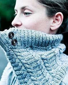 Perfect Rime Cowl by Jenny F in Worsted, Polar Morn colorway. Pattern link: http://www.ravelry.com/patterns/library/perfect-rime-cowl