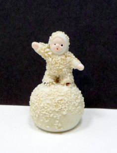 Vintage Christmas Snow Baby Snowball Figurine Japan on Etsy, $45.00