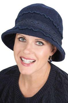 5ea78af177a Lorraine Cloche Hat - Wool Winter Hats for Women