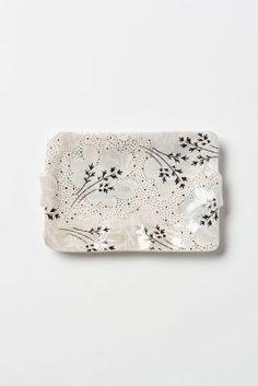 Love this pretty soap dish. Anthropologie.com
