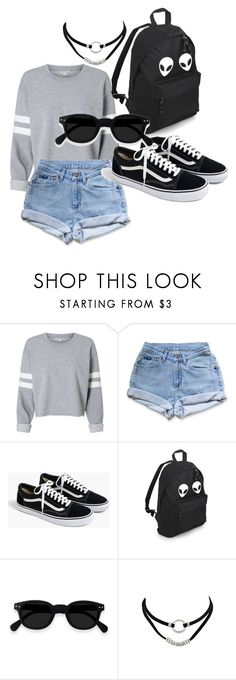 """"""""""" by rikatge ❤ liked on Polyvore featuring Levi's and J.Crew"""