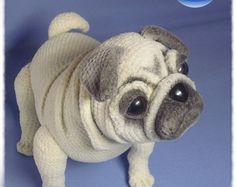 Browse unique items from NataliatoysArt on Etsy, a global marketplace of handmade, vintage and creative goods. Discover thousands of images about Pug dog crochet pattern PDF. English USA by Ambercraftstore Elfin Thread- Queency The Pug Puppy Amigurumi PDF Giraffe Crochet, Crochet Animals, Crochet Amigurumi, Crochet Dolls, Jumbo Yarn, Carlin, Cute Crochet, Dog Crochet, Dog Pattern