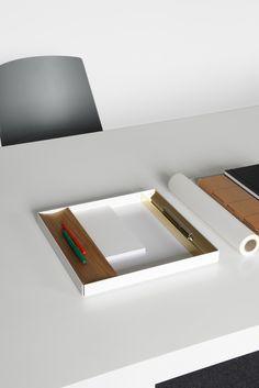 Aluminium tray CM04 ITO by e15 | design Philipp Mainzer