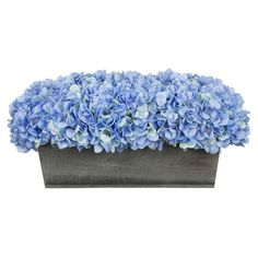 Faux Hydrangea ❤ liked on Polyvore featuring home and home decor