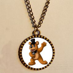 Five Nights at Freddy's http://www.aliexpress.com/store/product/01-Wholesale-4-Lot-5-Five-Nights-at-Freddy-s-Necklace-FREDDY-FAZBEAR-Scrabble-Tile-Antique/811473_32266338678.html #fivenightsatfreddys #jewelry #vintage #gifts #giftidea #cool