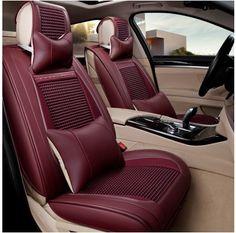 Interior Accessories Inventive Car Seat Covers Styling Fully Enveloped For Ferrari Gmc Savana Jaguar Smart Lamborghini Murcielago Gallardo Rolls-royce Phantom