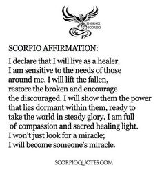Scorpio Quotes : Picture Quotes - Scorpio Traits - Scorpio Sayings Scorpio Zodiac Facts, Astrology Scorpio, Scorpio Traits, Scorpio Sign, Scorpio Quotes, My Zodiac Sign, Scorpio Personality, Aquarius, Pisces