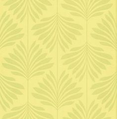 Vogue Citrus (W0003/10) - Clarke & Clarke Wallpapers - A refreshing design of zesty lime leaf-trails on a mottled-effect background of citrus green. Creates a stylish vitality and the illusion of space inside your home! Additional colourways also available.